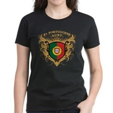Number One Portuguese Aunt Tee