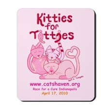 Team Kitties for Titties Mousepad