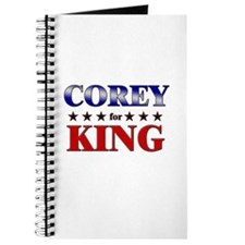 COREY for king Journal