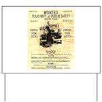 Bonnie Parker Yard Sign