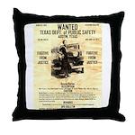 Bonnie Parker Throw Pillow