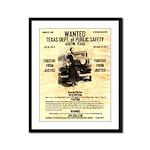 Bonnie Parker Framed Panel Print