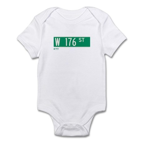 176th Street in NY Infant Bodysuit