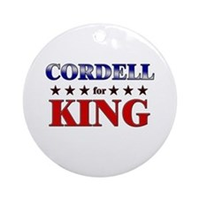 CORDELL for king Ornament (Round)