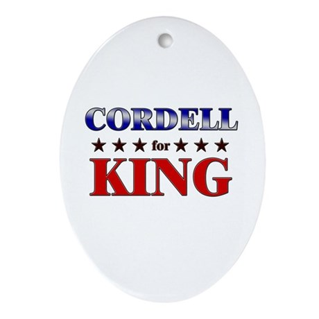CORDELL for king Oval Ornament