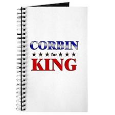 CORBIN for king Journal