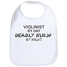Violinist Deadly Ninja Bib