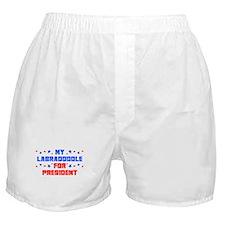 Labradoodle PRESIDENT Boxer Shorts