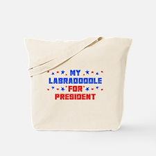 Labradoodle PRESIDENT Tote Bag