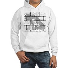 Brick Wall Stretching Picture Hoodie