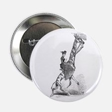 The Sidesaddle Giraffe Rider Button