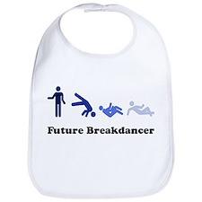 Future Breakdancer blues Bib