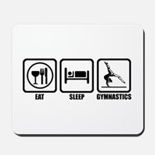 Eat, Sleep, Gymnastics Mousepad
