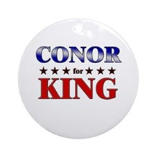 CONOR for king Ornament (Round)