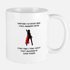 Superheroine Writer Mug