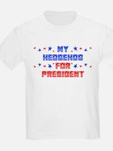 Hedgehog PRESIDENT T-Shirt