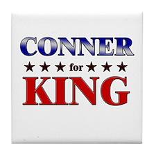 CONNER for king Tile Coaster