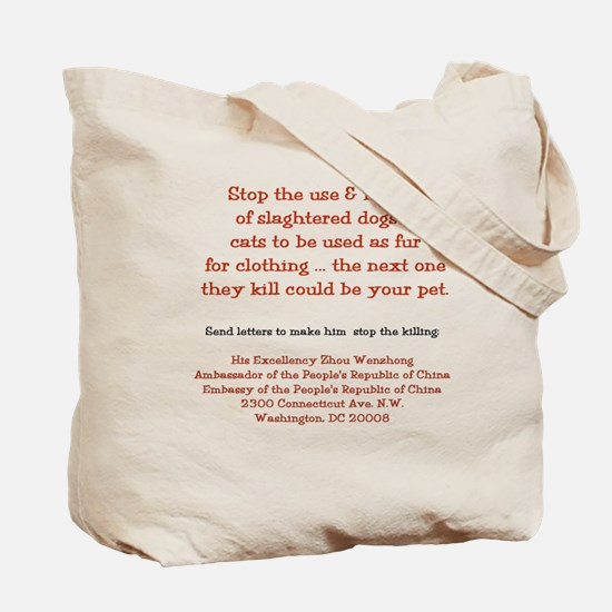 Make It Stop 8 Tote Bag