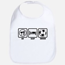 Eat, Sleep, Soccer Bib