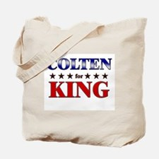 COLTEN for king Tote Bag