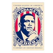Barack OBAMA 2008 Postcards (Package of 8)