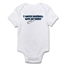 Tampa Bay Baseball Daddy Infant Bodysuit