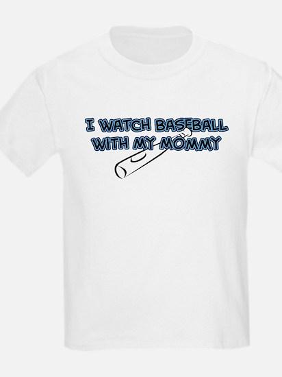 Tampa Bay Baseball Mommy T-Shirt