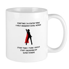 Superheroine Social Worker Mug