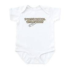 Pittsburgh Baseball Daddy Infant Bodysuit