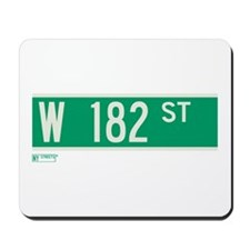 182nd Street in NY Mousepad