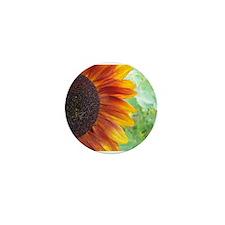 Summertime Sunflower Close Up Mini Button (100 pac