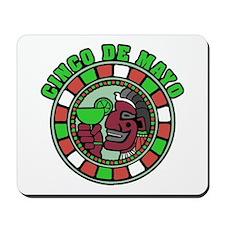 Cinco de Mayo Emblem Mousepad