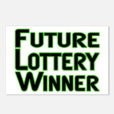 Future Lottery Winner Postcards (Package of 8)