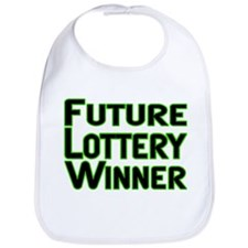 Future Lottery Winner Bib