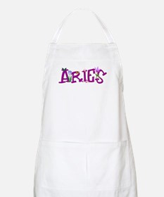 Aries Flowers Apron
