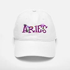Aries Flowers Baseball Baseball Cap