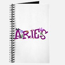 Aries Flowers Journal