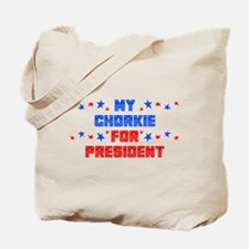 Chorkie PRESIDENT Tote Bag