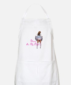 Wanna see my panties? BBQ Apron