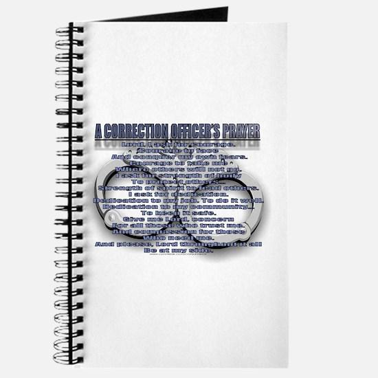 CORRECTION'S OFFICER PRAYER Journal