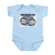 CORRECTION'S OFFICER PRAYER Infant Bodysuit