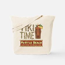 Myrtle Beach Tiki Time - Tote or Beach Bag
