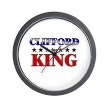 CLIFFORD for king Wall Clock