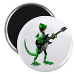 Electric Guitar Gecko Magnet