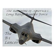 B-1 Lancer Wall Calendar