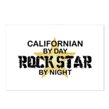 Californian Rock Star Postcards (Package of 8)