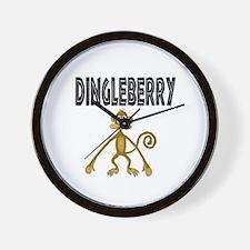 """Dingleberry"" Wall Clock"
