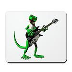 Electric Guitar Gecko Mousepad