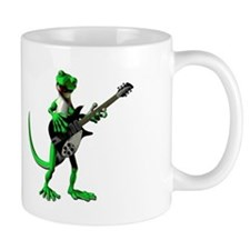 Electric Guitar Gecko Mug