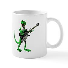 Electric Guitar Gecko Small Mug